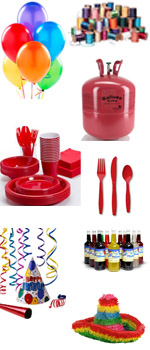 Party supplies in Butte Montana, Dillon, Whitehall, Missoula, Bozeman, Great Falls, Helena, Sheridan, & Anaconda MT