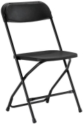 Where to rent CHAIRS, FOLDING BLACK in Butte MT